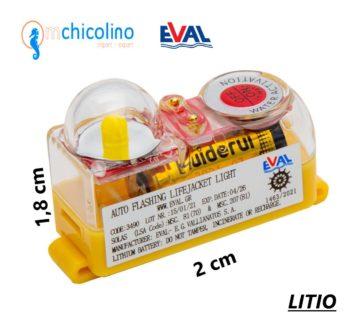 "LUZ LED ""SOLAS"" de chaleco LITIO MINI EVAL"