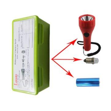 Linterna LED SOLAS de seguridad: Morse y Luz fija. +repuestos