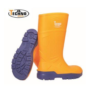 Bota de poliuretano TECHNO BOOTS TROYA S5.-30º con puntera y plantilla acero