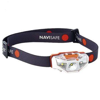 Linterna LED frontal NAVISAFE IPX6 - 60 lm- 5 ajustes